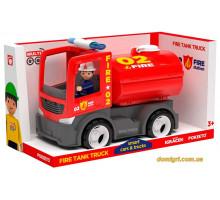 Пожарная автоцистерна с водителем, Fire, MultiGO, Efko