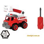 Пожарный кран LM8034-SZ-1, конструктор, 33 детали, DIY Spatial Creativity