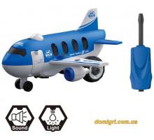 Літак LM8074-SC-P, конструктор, 32 деталі, DIY Spatial Creativity
