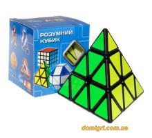 Smart Cube Pyraminx black | Пирамидка Смарт черная