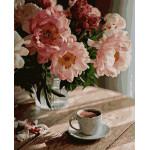 Картина по номерам Кофе в уюте 40*50 см