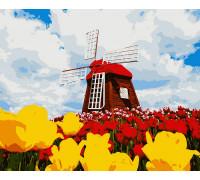 Картина по номерам Цветущая Голландия 40*50 см