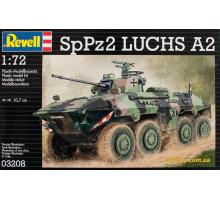 Боевая разведывательная машина SpPz 2 Luchs (1975г.; Германия), 1:72 (03208 Revell)
