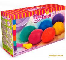 Мега набор для лепки с крышкой, 6 цветов (23007 TrueDough)