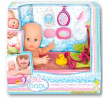 Пупс 32 см, с ванночкой для купания (32003 Play Baby)
