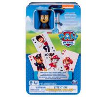 Карточная игра Щенячий Патруль с эксклюзивной фигуркой (SM98418/6044336 PAW Patrol)