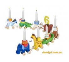 Аксесуари goki Підставка для свічок Зоопарк GK108