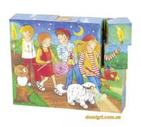 Кубики деревянные goki Peggy Diggledey 57738G