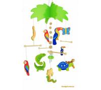 Мобайл деревянный goki Пальма 52917
