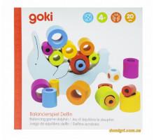 Развивающая игра goki Балансирующий дельфин 56901