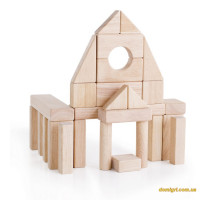 Набор строительных блоков Guidecraft Unit Blocks. 28 шт. (G2101B)