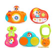 Комплект підвісних музичних іграшок 5 шт. (3111 Huile Toys)