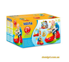 Игрушка  машинка-каталка Делюкс (2133 Weina)