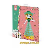 Набор для творчества - Куклы из бумаги (J07786 Janod)