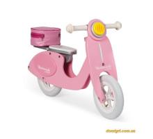 Толокар - Ретро скутер (розовый) (J03239 Janod)