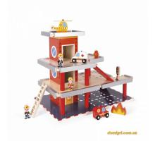 Ігровий набір Janod Пожежна станція J05717