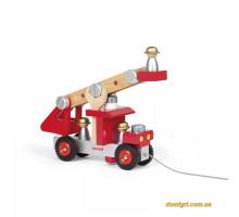 Пожарная машина с инструментами (J06498 Janod)