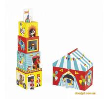 Кубики картонні Janod Цирк J02800