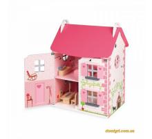 Кукольный домик с мебелью (J06581 Janod)