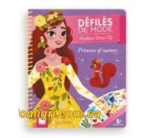 Блокнот модные наряды - Принцессы (J07832 Janod)