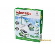 Робот-конструктор Same Toy Сонцебот 6 в 1 на сонячній батареї