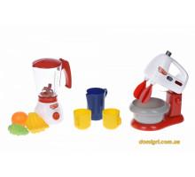 Игровой набор My Home Little Chef Dream - Соковыжималка и кухонный миксер (3201Ut Same Toy)