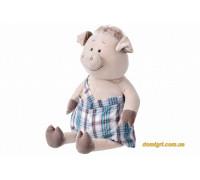 Свинка в комбинезоне (60 см) (THT705 Same Toy)