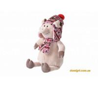 Свинка в шапке (38 см) (THT720 Same Toy)