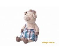 Свинка в комбинезоне (45 см) (THT706 Same Toy)