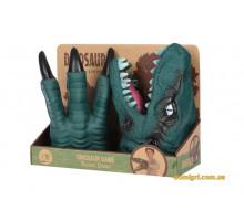 Ігровий набір Same Toy Dino Animal Gloves Toys зелений AK68623Ut