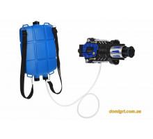 Іграшкова зброя Same Toy Водяний електричний бластер з рюкзаком 777-C2Ut