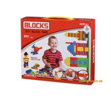 Конструктор - Block Tape (800 ед) (808Ut Same Toy)