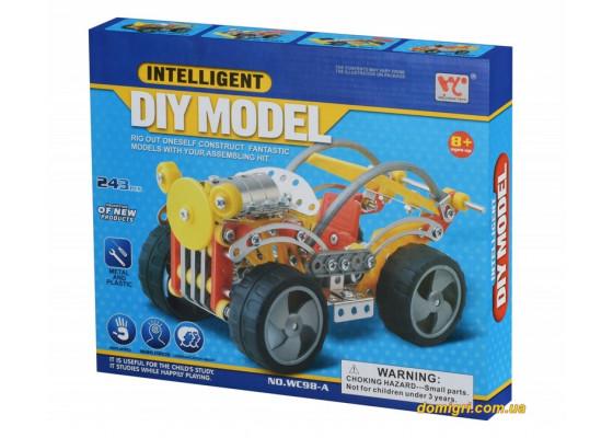 Конструктор металлический (243 эл.) (WC98AUt Same Toy)