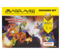 Конструктор Магнитный 62 ед. (mpb-62 Magplayer)