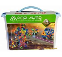 Дитячий конструктор MagPlayer 198 од. (MPT-198)