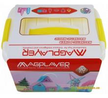 Конструктор Magplayer магнітний набір бокс 90 ел. MPT2-90