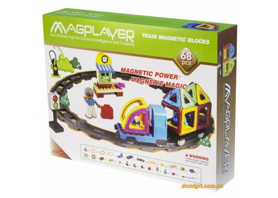 Дитячий конструктор MagPlayer 68 од. (MPK-68)