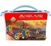 Дитячий конструктор MagPlayer 66 од. (MPT-66)