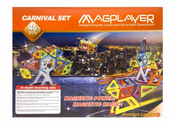 Дитячий конструктор MagPlayer 46 од. (MPB-46)