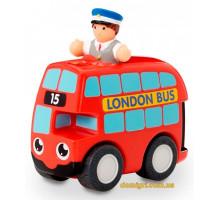 Красный автобус Basil, игровой набор, Wow Toys