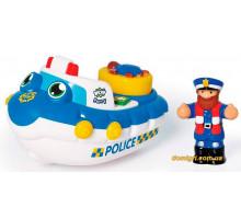 Поліцейський човен Перрі, іграшка для купання, Wow Toys