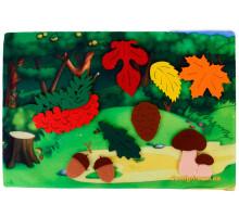 Развивающая игра из фетра Осенний лес, Умняшка