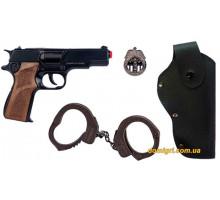 Набор полицейского, 4 предмета, Gonher