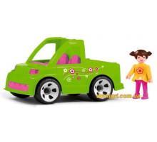 Машинка с садовником, MultiGO, Efko