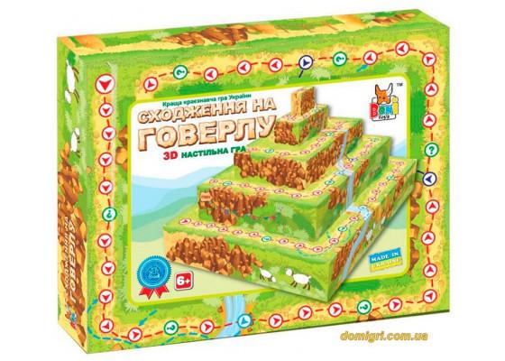 Настольная игра Восхождение на гору Говерлу, Boni Toys