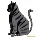 Черный кот | Black cat Fridolin 3D модель