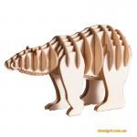 Белый медведь | White bear Fridolin 3D модель