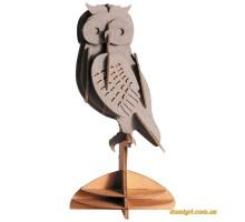 Сова |Owl Fridolin 3D модель