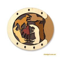 Constantin puzzle wild Horses |Головоломка Дикие лошади