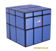 Smart Cube Mirror Blue | Зеркальный кубик голубой